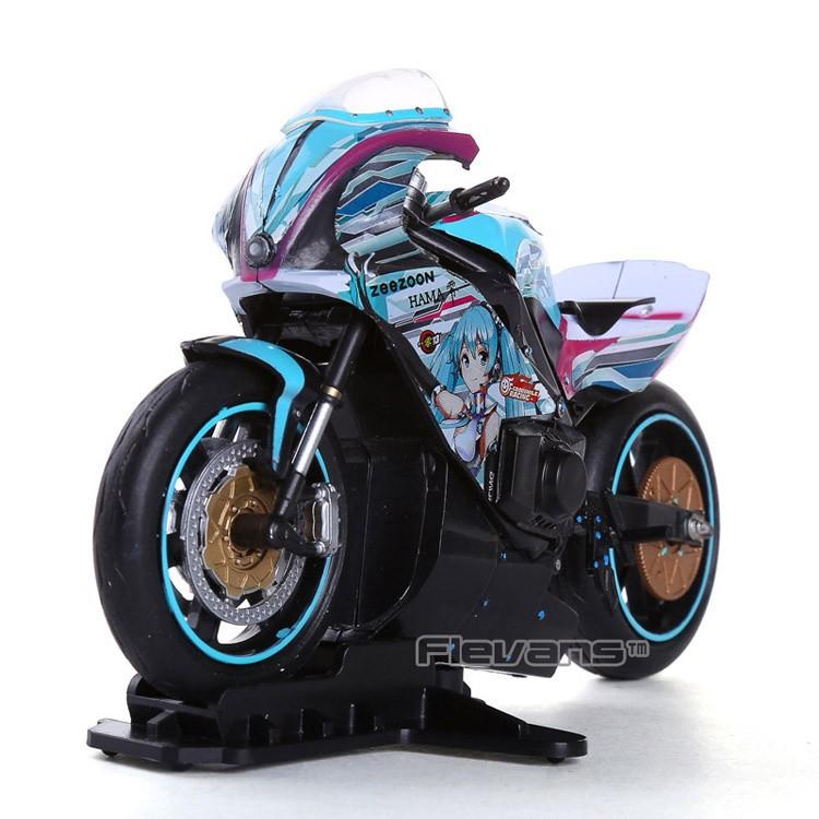Anime Figma 233 Hatsune Miku with Motorcycle PVC Action ...