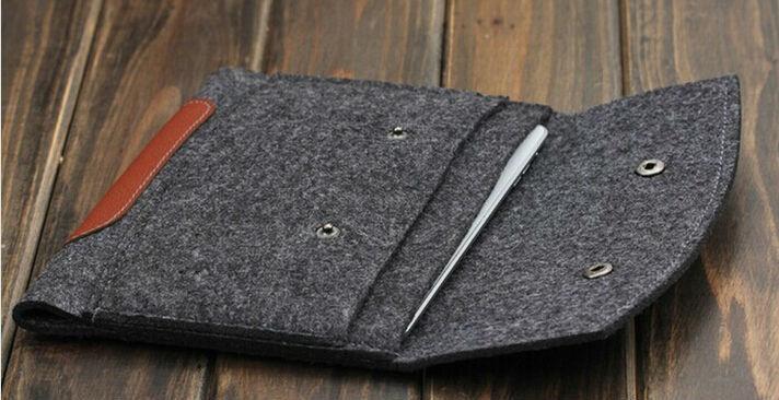 Wool Felt Inner Bag For iPad 2 3 4 iPad AIR AIR2 Tablet Universal Ultrabook Cover