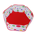 Plastic Ocean Marine Ball Pool Kids Play Game House tent Ocean Ball Pool Color Mixing Soft