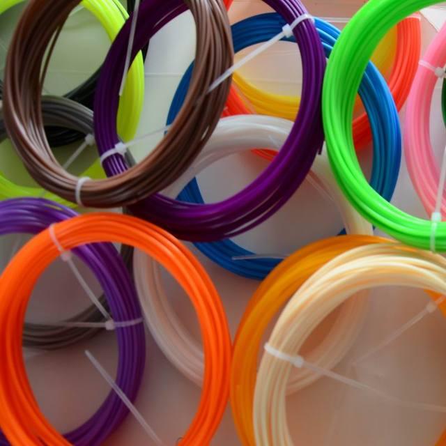 3D Накаливания 100 М ABS/PLA 1.75 мм 3D Накаливания (20 цвета на выбор) для 3D Печать Ручка 3D Принтер