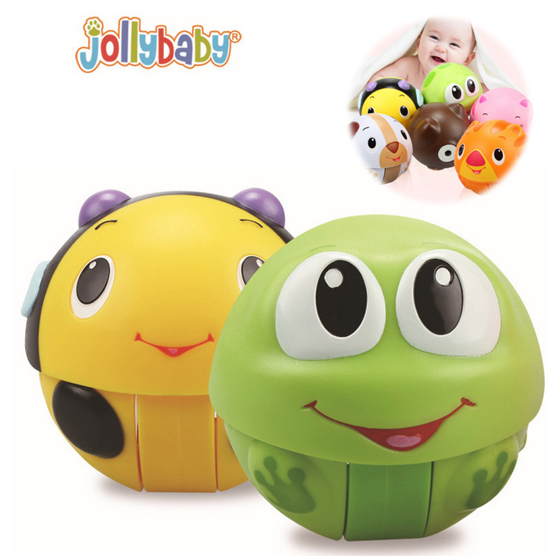 Colorful Mini Baby Infant Toy Children's Flash Colorful Ball Cartoon Tumbler Kids Funny Musical Toys WJ320(China (Mainland))