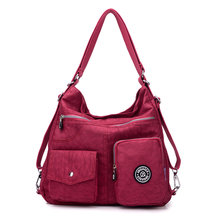 New chegar atacado moda ocasional saco de nylon impermeável saco do mensageiro do ombro #9823(China)