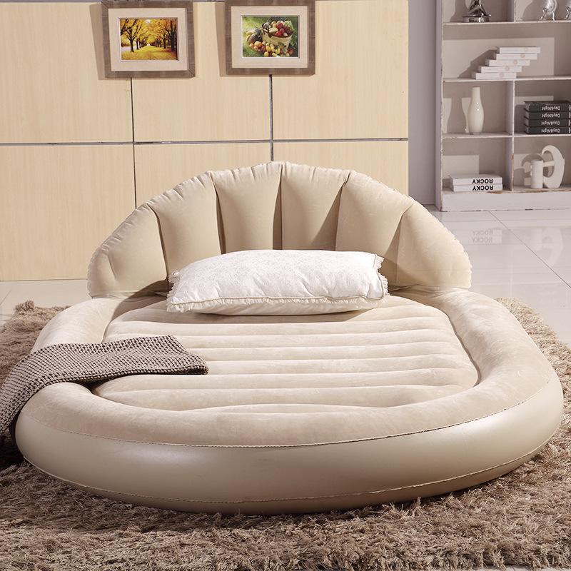 2015 vente chaude nouveau lit rond ronde meubles lits chambre deluxe ovale ma - Matelas gonflable rond ...