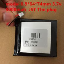 lipo battery 896474 3.7v 5000mah lithium battery for 10 inch tablet pc CUBE Onda V811 812 CL(China (Mainland))