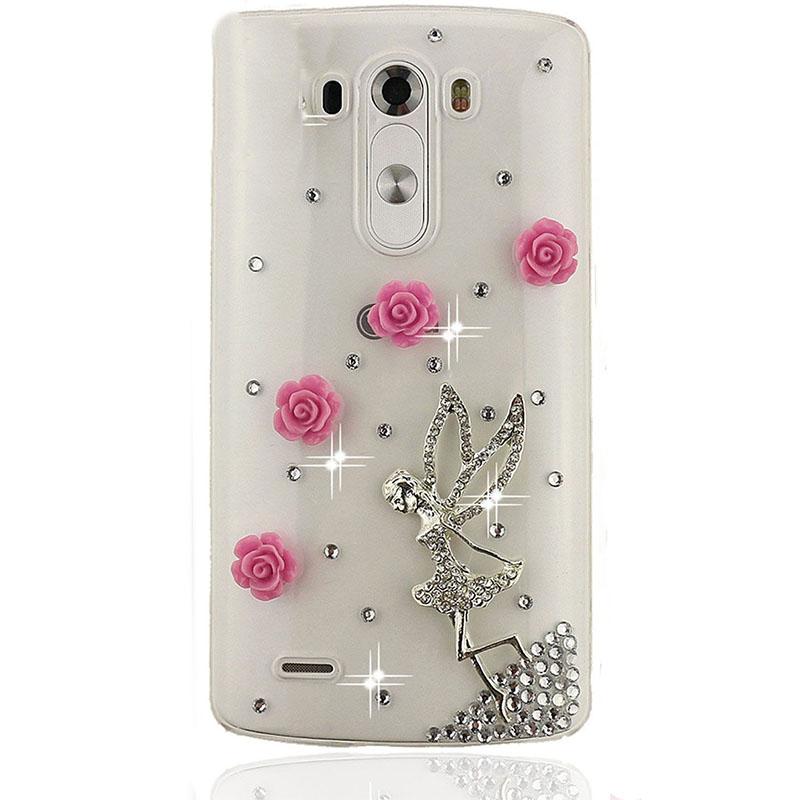 Diamond 3D Bling Luxury Rhinestone Crystal Mobile Phone Bag Cover Case for lg G4 Stylus G Stylo/LS770/G2/G3/M1/G VISTA(China (Mainland))