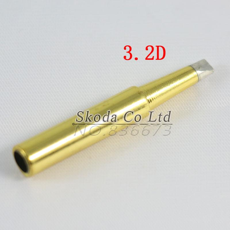 high quality 10pcs lot golden lead free solder iron tip 900m t for hakko 936 saike 909 aoyue. Black Bedroom Furniture Sets. Home Design Ideas