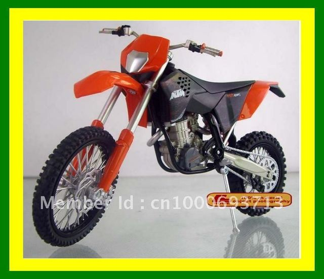 Wholesale FREE SHIPPING 1:12 KTM 450 EXC MOTORCYCLE DIECAST MODEL FIGURE TOY Birthday GIFT