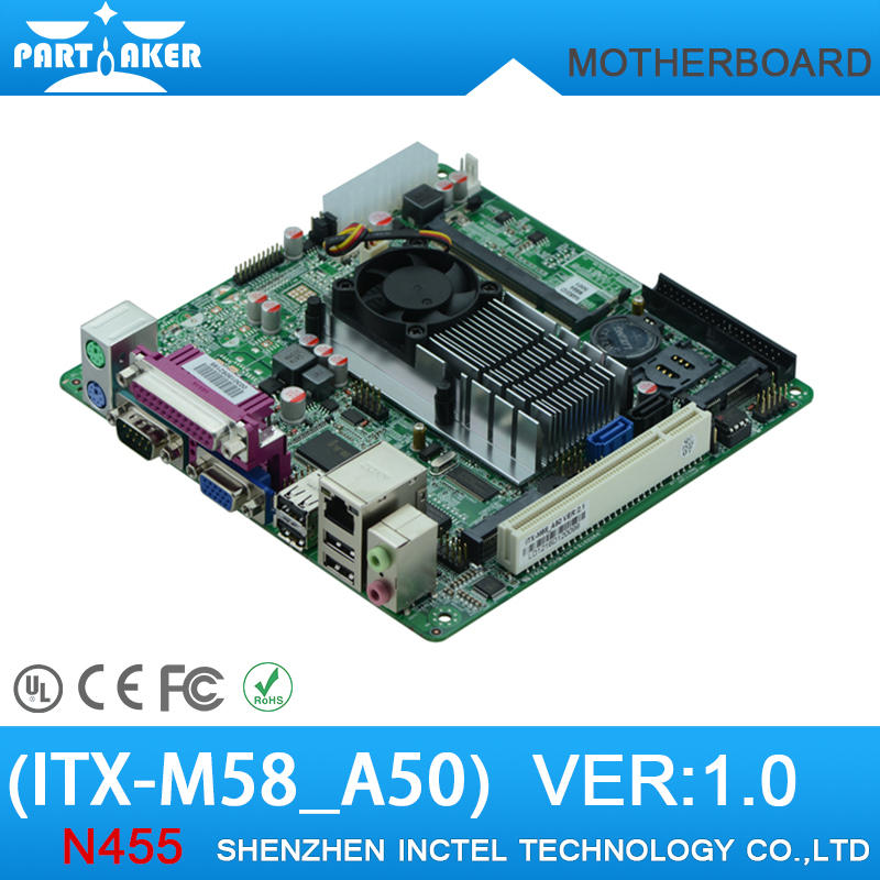 Industrial motherboard ATOM N450 low-power DDR2 motherboard POS cash register inquiry board(China (Mainland))