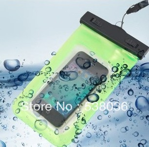 for ZTE grand s II CDMA 5.5 Waterproof PVC Bag Underwater Pouch bag Watch Digital Camera mobile phone bag high quality hot sell(China (Mainland))