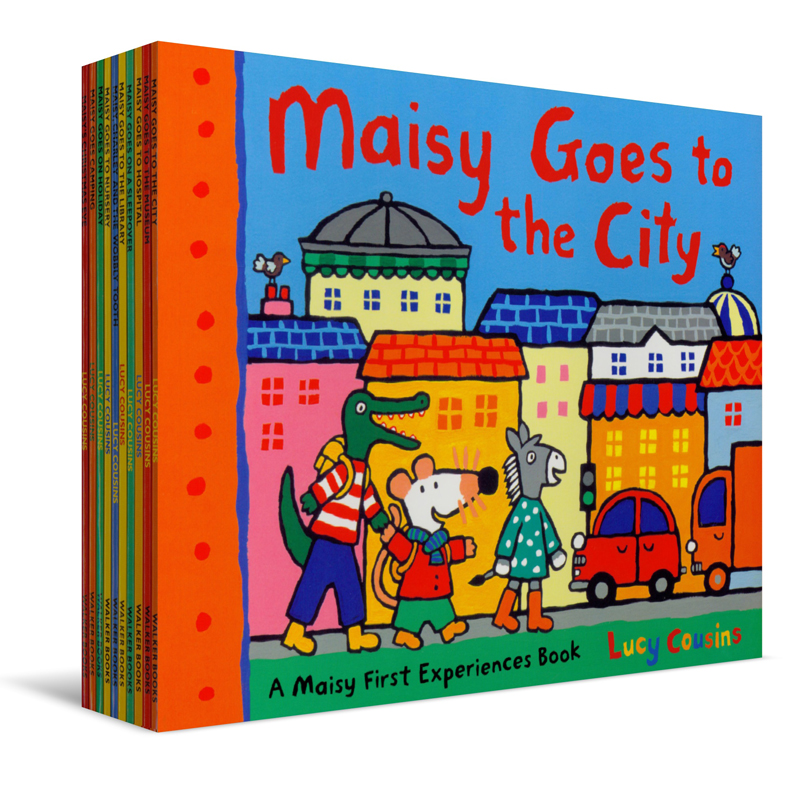 Maisy mouse Maisy First Experiences gift recommendation (all 10 books)(China (Mainland))