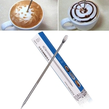 Barista Coffee Cappuccino Latte Decorating Art Pen Household Kitchen Cafe Tool Free Shipping