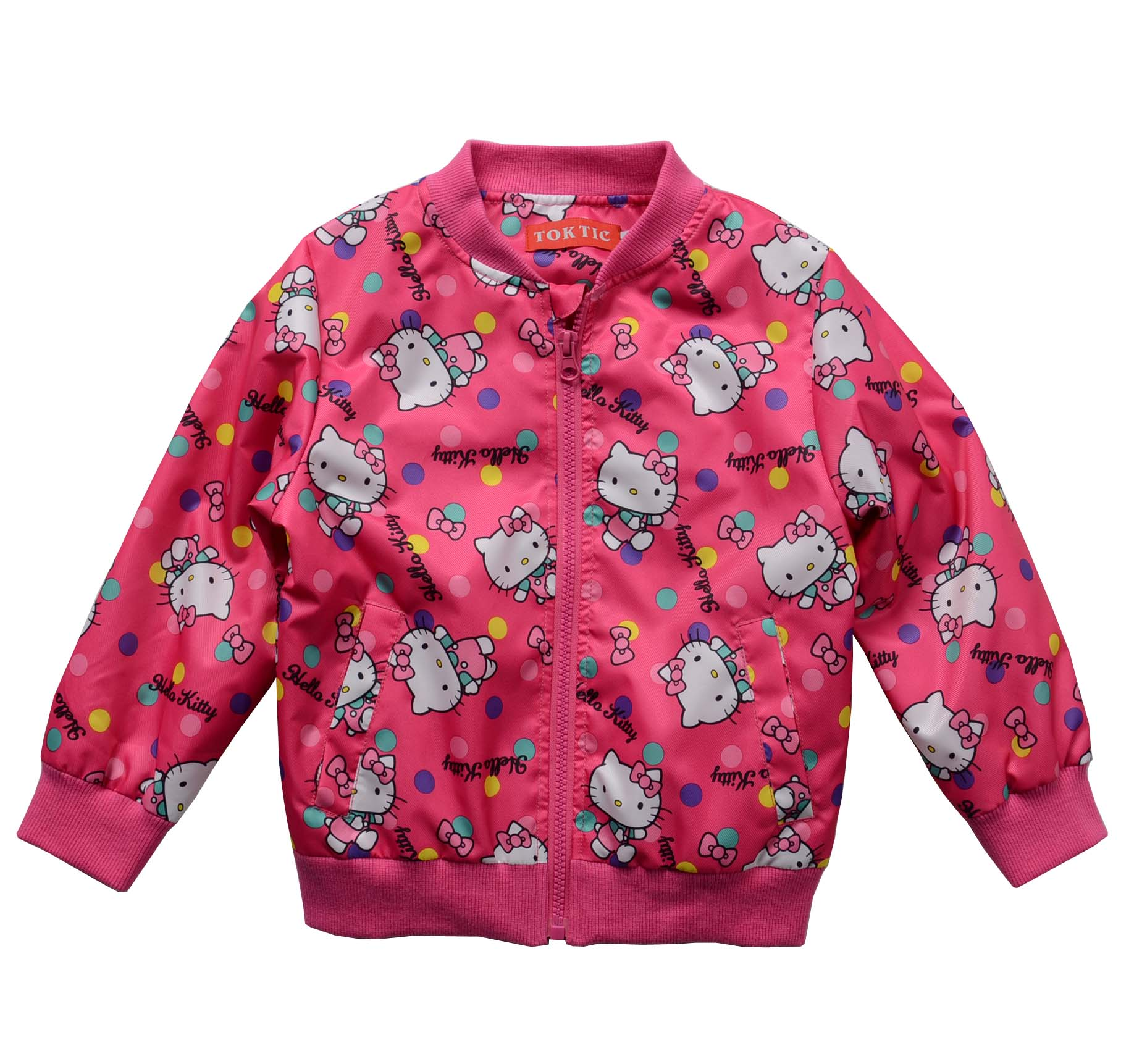 TOKTIC brand children girl cute cat casual jacket kids girl fashion outwear jacket kids spring coat