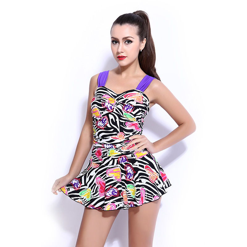 Womenu0026#39;s one pieces swimsuit summer swimming suits padded swimwear beachwear robe maillot de bain ...