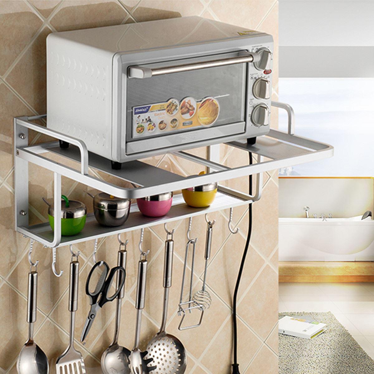 Promoci n de esquina de microondas horno compra esquina de microondas horno promocionales en - Estante microondas ...