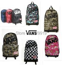 30 style School Youth Trend schoolbag 2015 new ladies female man shoulder bag backpack VANS Escolar bolsas mochila US Nina