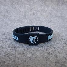 Top Quality Silicone Basketball Sport Energy Size Can Adjust Bracelet Metal Buckle Balance Wristband Power Bangle(China)