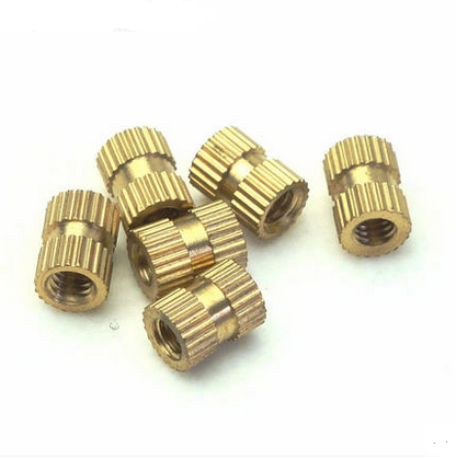 Injection of copper nut insert embedded parts knurled M4X10 outer diameter 51 one thousand<br><br>Aliexpress