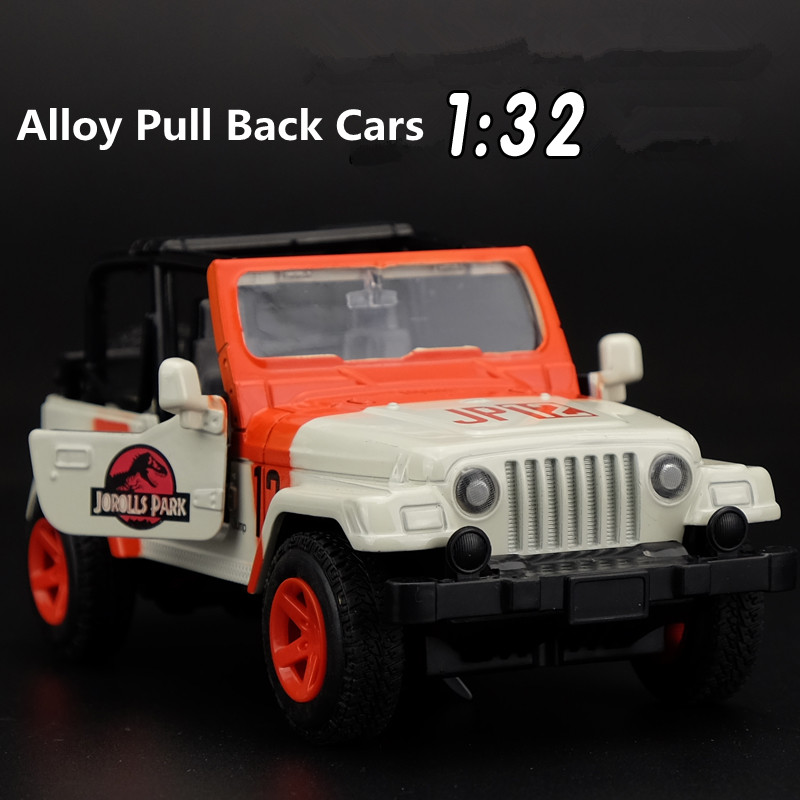 1:32 alloy car models, high simulation toy jeep, metal diecasts, toy vehicles, pull back sound and light, free shipping(China (Mainland))