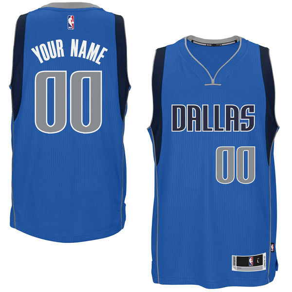 Men's Customized Dallas NBA Basketball Jersey - Blue(China (Mainland))