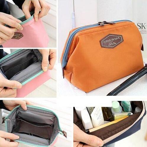 2015 NEW Women bag Portable Cute Multifunction Beauty Travel Cosmetic Bag Makeup Case Pouch Toiletry maleta de maquiagem M012(China (Mainland))
