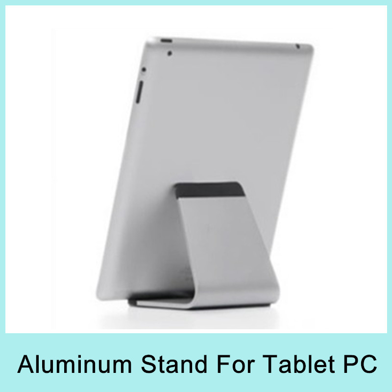 Aluminium Metal Desk Stand Holder Mount for Apple iPad3 iPad mini iPad Air Tablet PC MID E-book Universal Stand 2015 NEW(China (Mainland))