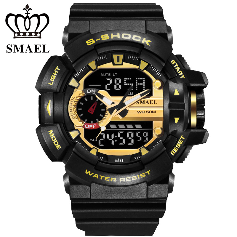 Watches Mens Luxury Brand SAMEL Fashion Digital Watch Men Sports Military Wristwatch G Style Outdoor Clock Men Relogio Masculino(China (Mainland))
