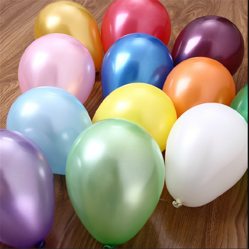 10pcs10 inch blue inflatable latex balloon air balls wedding party decoration birthday party balloons float toys children(China (Mainland))