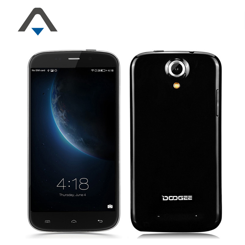 Original Doogee NOVA Y100 X Y100X MTK6582 Quad Core Mobile phone 5.0