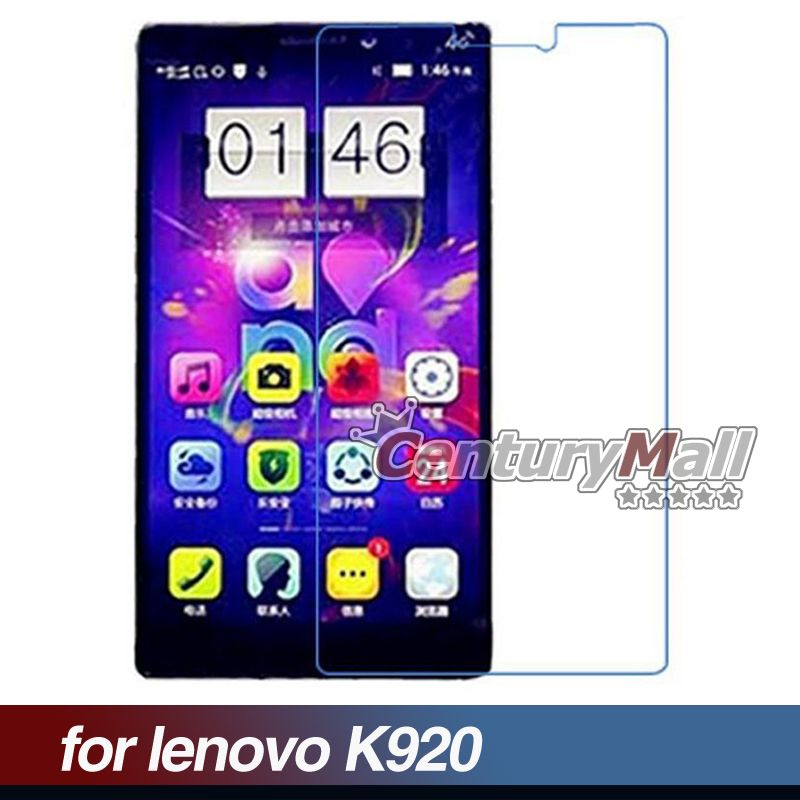 5pcs New Clear Lcd Screen Protector Film High Definition Transparent Guard For Lenovo K920 Wholesale BL1B076(China (Mainland))