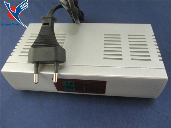 Newest Silver PAL Television System 90-240V TV Signal EU Plug Audio Video Signal Converter AV To RF modulator Free shipping(China (Mainland))