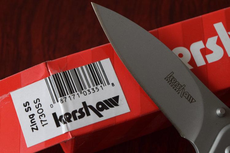 Kershaw 1730ss Zing ss Tactical Folding knife Hunting knives Survival Camping Tools Outdoor Gift Drop Shipping