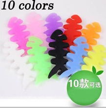 Hot!! 1pcs/lot New Arrival Silicone Rubber Fish Bone Earphone Cord Cable Reel Winder Winder Earphone Accessory Free shipping