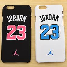Matte Frosted Jordan 23 back cover case for iPhone 6 s 6s plus mobile phone coque capa fundas Capa para Celular Casos Carcasas