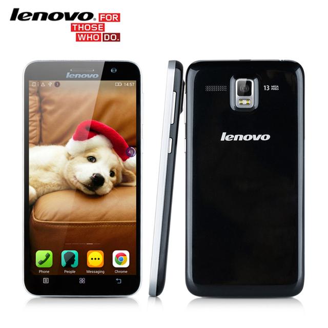 "Оригинал Lenovo A806 A8 Окта Ядро MTK6592 Android Смартфонов 5.0 ""IPS 13.0MP 2 ГБ RAM 16 Г ROM 4 Г LTE FDD/3 Г WCDMA Многоязычная"