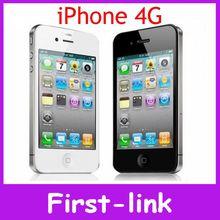 Iphone 4 высокое качество оригинал завода разблокирована сотовые телефоны GSM 3.5 дюймов 8 ГБ 16 ГБ 32 ГБ хранения GPS WIFI 5-мп камерой(China (Mainland))