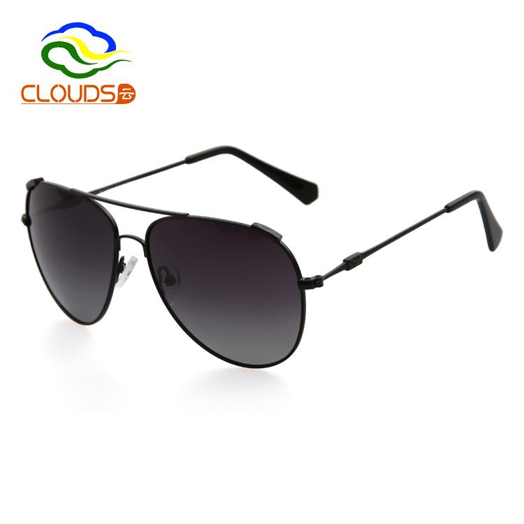 2015 New Arrival UV400 Retro Driving Men Sunglasses Brand Designer Luxury Aviator Metal Frame Polarized Sunglasses With Box Logo(China (Mainland))