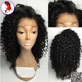 Wholesale Full Lace Human Hair Wigs Lace Front Wig With Baby Hair Unprocessed Virgin Peruvian Kinky