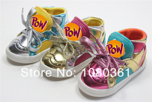 Lovely new 1pair PU leather Sport Sneakers Children Shoes+inner 13-17 cm, warm Kids girl/boy Shoes(China (Mainland))