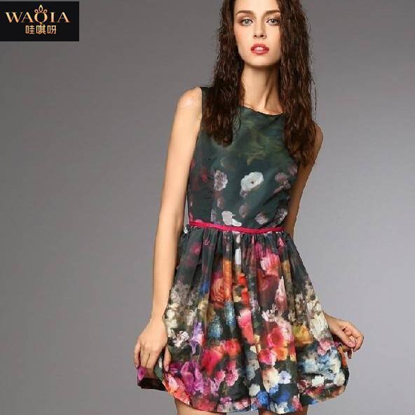 Женское платье WAQIA 2015
