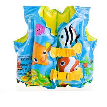 Children's swimming inflatable life saving jacket babies life cartoon vest swim clothing products f0r 1-5age free shipping V0408