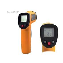 En temporada de vacaciones! GM380 infrarrojo sin contacto Digital Point Laser termómetro IR