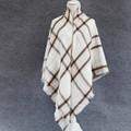 High Quality new arrival brand Plaid Scarf Women soft Cashmere Winter Scarf Female Warm Tartan Foulard
