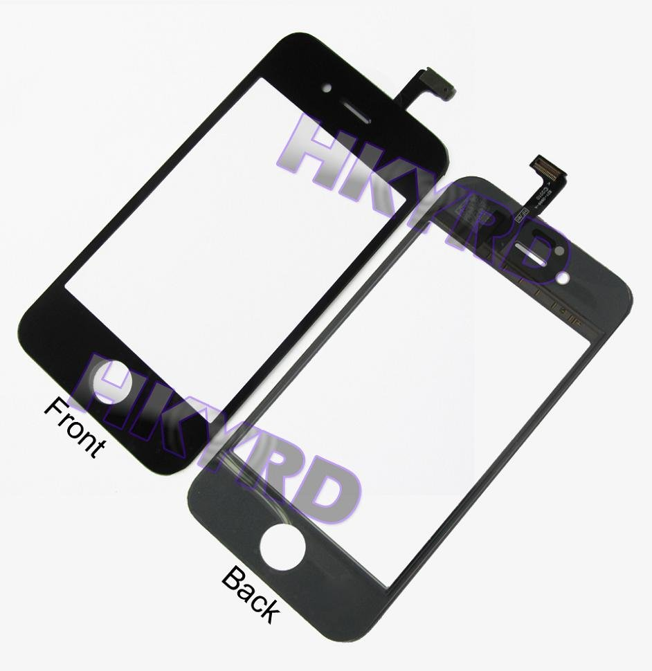 1 PC High Quality New Black White Replacement Touch Screen Digitizer For iPhone 4S 4GS B0037 P18 0.4(China (Mainland))