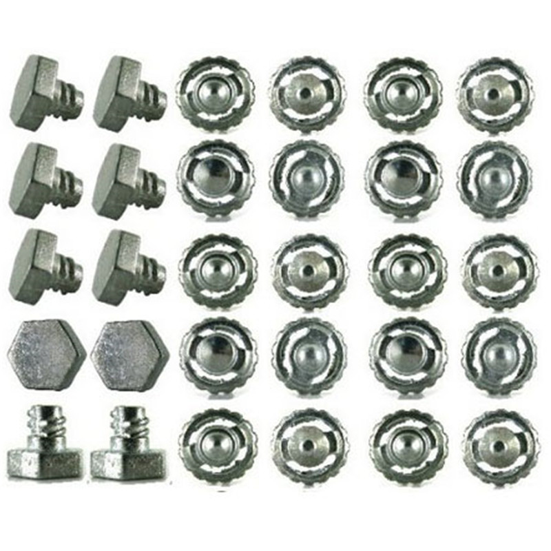 Beyblade Parts Kit Metal Face Bolt Performance Alloy Gyro fighting accessories 20 pcs / tip + 10 pcs / 4D screw heads(China (Mainland))