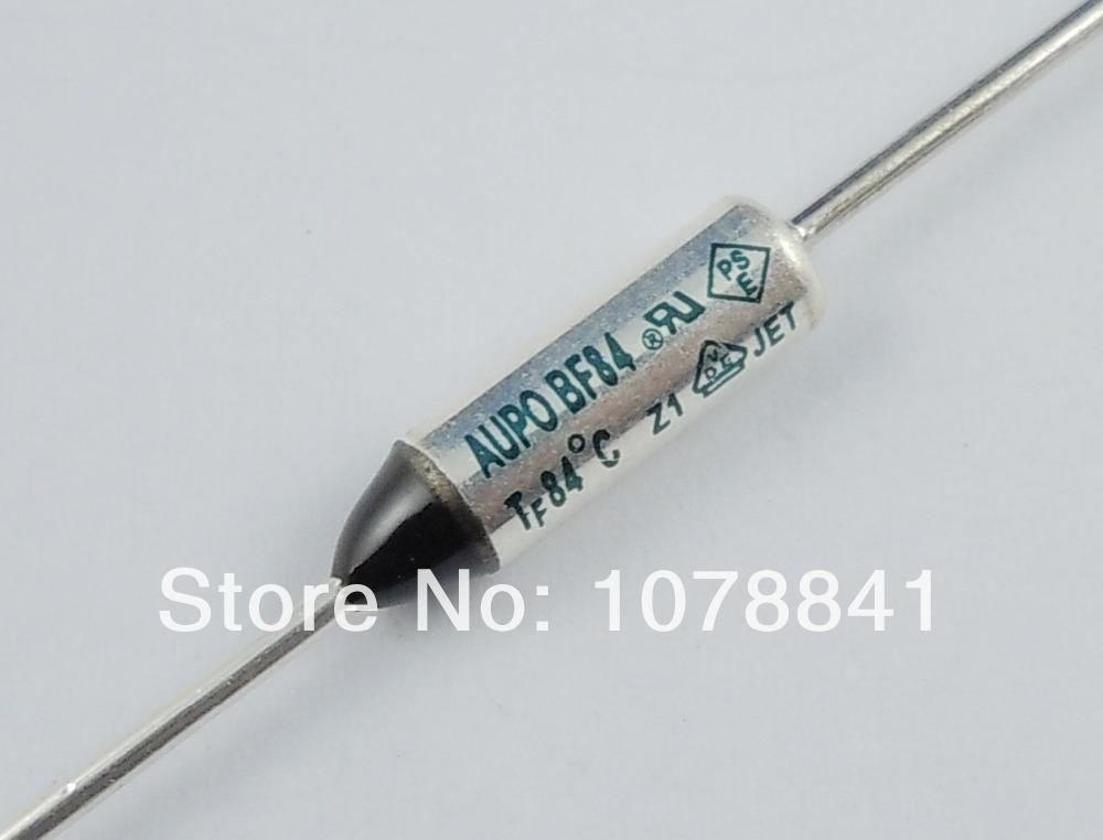 100 Pcs Per Lot AUPO Thermal Fuse Cutoff TF 84 Degree 250V 10A BF84 от Aliexpress INT
