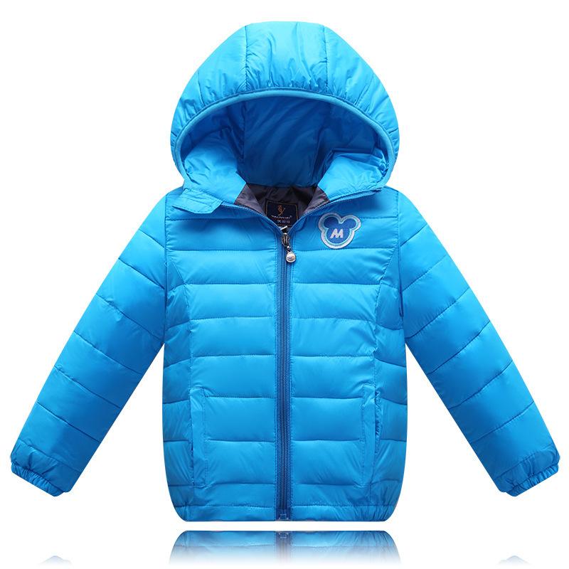 Fashion Baby Boys Winter Jacket 2015 Hot Hooded Warm Cartoon Kids Winter Coat Girls white Duck Down Jacket Boy Girl Overcoat