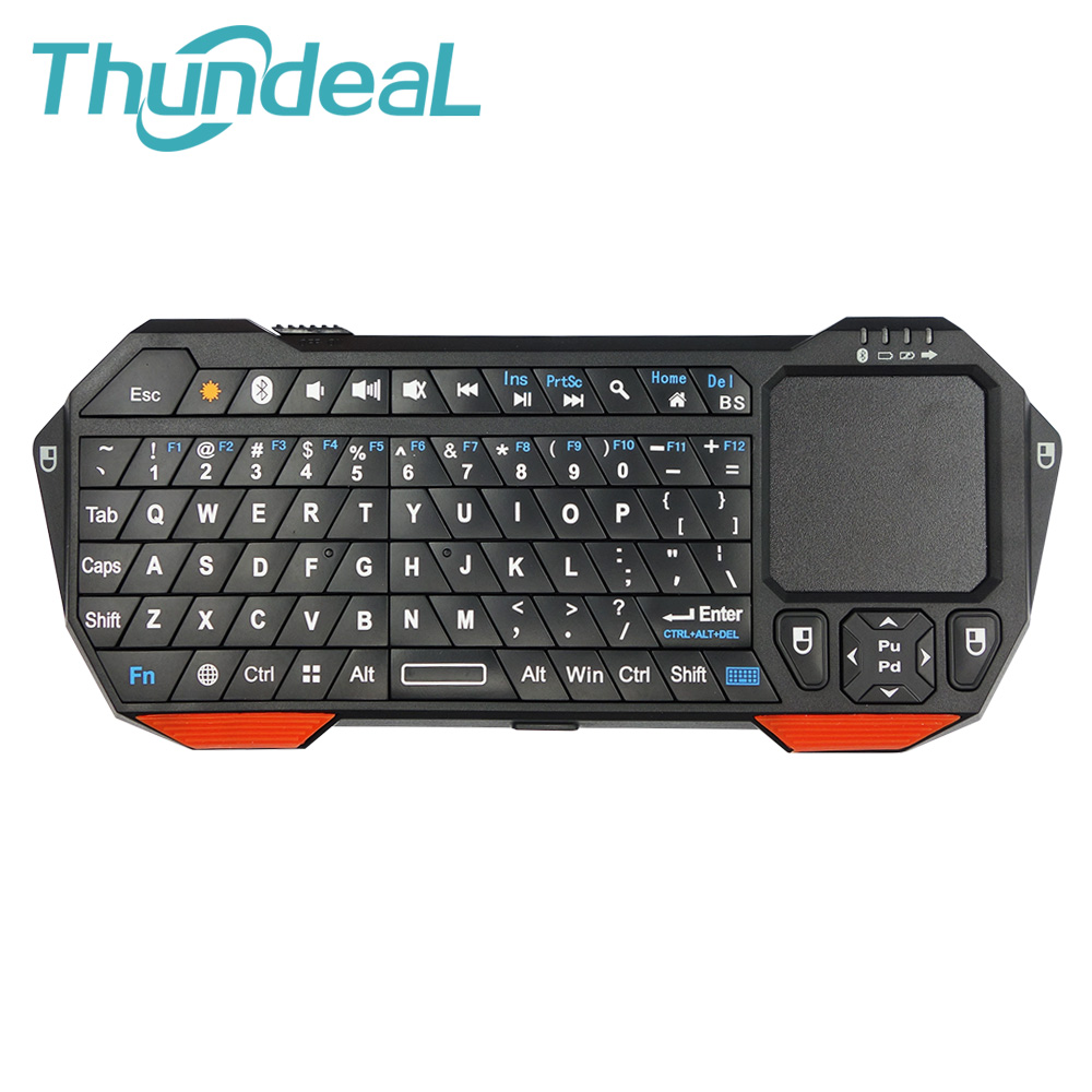 New Arrival Utra-thin Mini Wireless Bluetooth 3.0 Keyboard&Mouse Lightweight Built-in battery Touchpad For Windows Android iOS(China (Mainland))