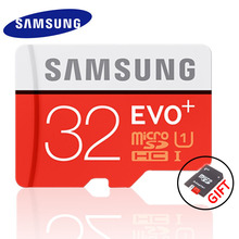 SAMSUNG EVO+ Memory Card 16GB/32GB/SDHC 64GB/128GB/SDXC 80MB/S Micro SD TF Class10 Class10 Flash Memory Cards Free Shipping(China (Mainland))