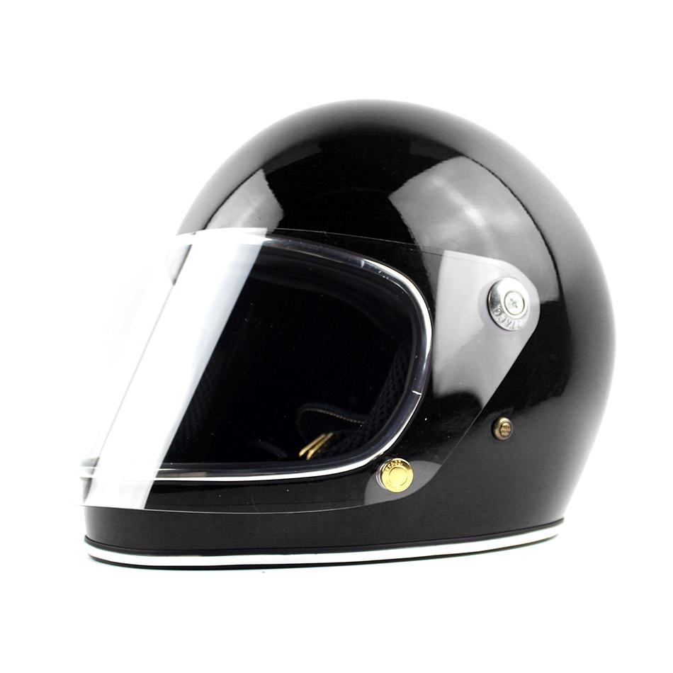 With clear lens Men motorcycle helmet TT & CO Japan Thompson motorcycle helmet full face helmet Ghost Rider racing shiny helmet(China (Mainland))