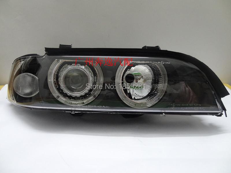 E39 headlight,530i 520i 528i,1996~2003,Fit LHD,If RHD need add 200USD,Free ship!E46 fog light,2ps/set+2pcs Ballast